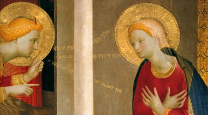 Advent 4 - Fra-Angelico-Annunciation-Detail