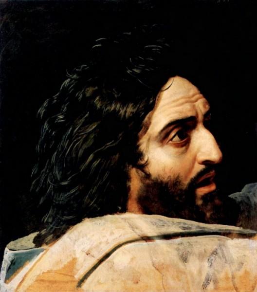 John the Baptist . Ivanov, Aleksandr Andreevich, Moscow, Russia