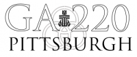 PC(USA) 220th General Assembly Logo - Pittsburgh
