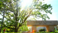 """Shot of the Virginia Tech Memorial from the Documentary, """"Trigger"""""""