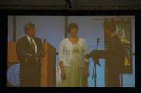 Tara Spuhler McCabe during her Installation as Vice-Moderator of the PCUSA.