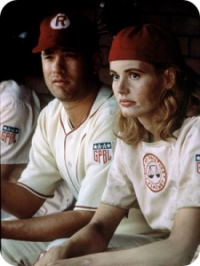 Tom Hanks and Geena Davis - A League of Their Own