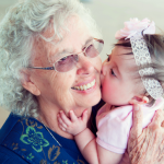Gracelyn Nicole and her GREAT Grandmother