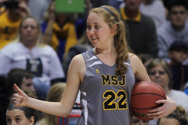 Lauren Hill thumbs up