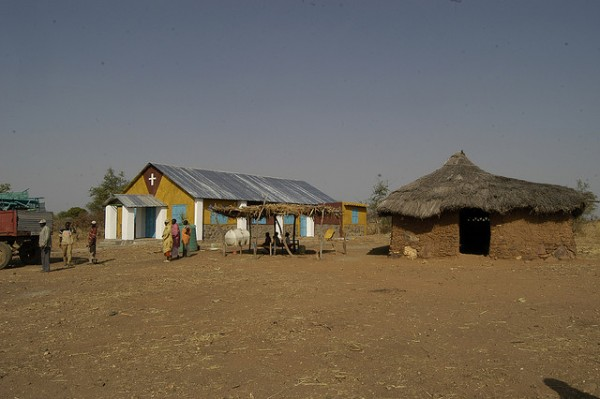 church in Sudan Flickr