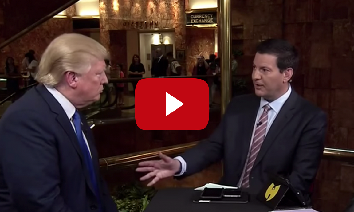 "Watch Trump Dismiss a Stupid ""Gotcha"" Question about the Bible"