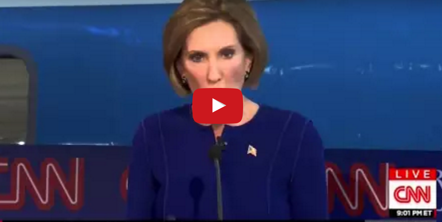 Carly Fiorina ends campaign, but don't forget this awesome moment from her run.