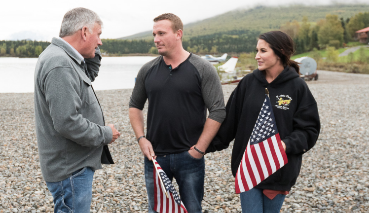 "port alsworth muslim [tuesday, july 10, 2012 at 8 et, dan rather reports on axs tv is live from alaska, where fisherman believe salmon, known here as ""red gold,"" will be threatened by runoff from a planned copper and gold mine that would be one of the world's largest."