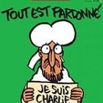 Charlie Hebdo cover. Photograph: Charlie Hebdo/EPA