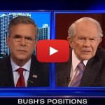 Jeb Bush Must Publicly Support or Condemn Pat Robertson