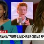 Did Melania Trump Rick Roll the Entire World?