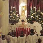 Our parish's altar of repose