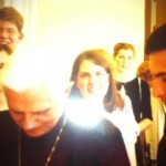 I had the amazing opportunity to meet and speak with Pope Benedict, then Cardinal Ratzinger, in the summer of 2002. I apologize for the poor photo quality!