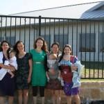 From Left -- Katrina, Juris Mater, Kellie, B-Mama, and Texas Mommy.