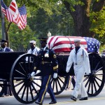 President Ronald Reagan Memorial Procession