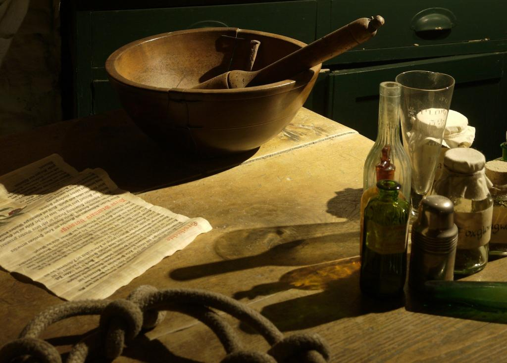 Working Tools (Courtesy of The Museum of Witchcraft)