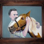 """Nietzsche and the Horse"" (A Painting)"