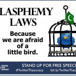 CFI Blasphemy Laws Because We Are Afraid of a Little Bird