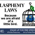 CFI Blasphemy Laws Because We Are Afraid of a Little Bird