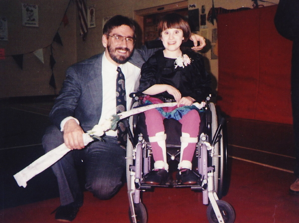 Mid 1990s. Rhiannon asks her dad to be her escort at homecoming. He has no idea how this picture will make him sob 20 years later.