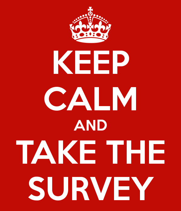 Please Fill Out My Reader Survey!