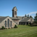St. Joseph's Abbey in Massachusetts. Monasteries are often excellent places to find guidance in Christian contemplation.