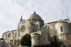 Basilica of the National Shrine of the Immaculate Conception Washington, DC. Photo courtesy Shutterstock.