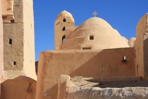 A Monastery in the Egyptian Desert