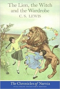 """The Lion, the Witch and the Wardrobe,"" in which Lewis introduces the ""not-tame"" Aslan."