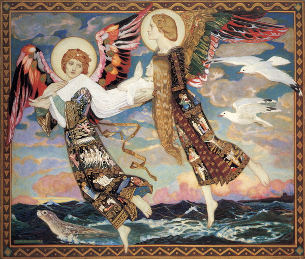 Saint Bride (1913) by Scottish Painter John Duncan (public domain)