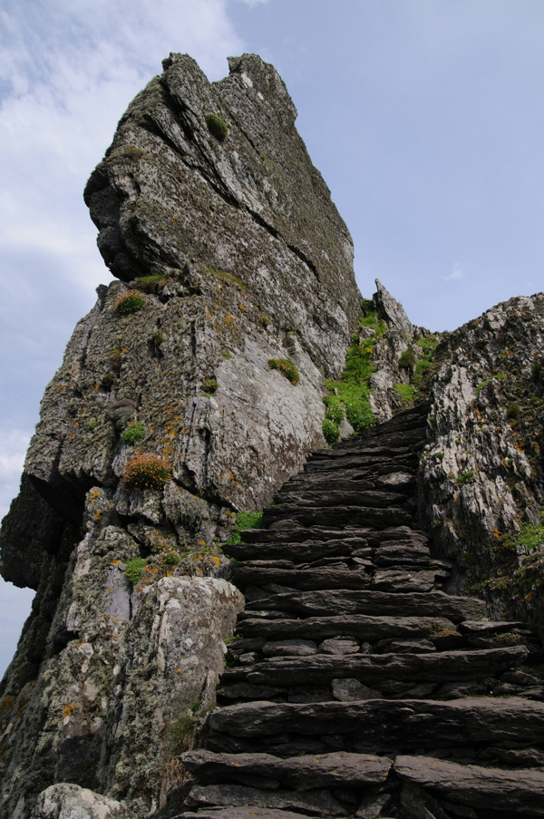 At the edge of Ireland: the stairs of Skellig Michael (photo: shutter stock)