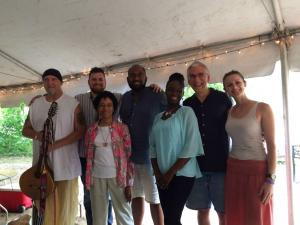 """The Speakers at the """"Wisdom Camp"""" of the Wild Goose Festival, July 2017. This is what contemplative community, at its best, looks like."""
