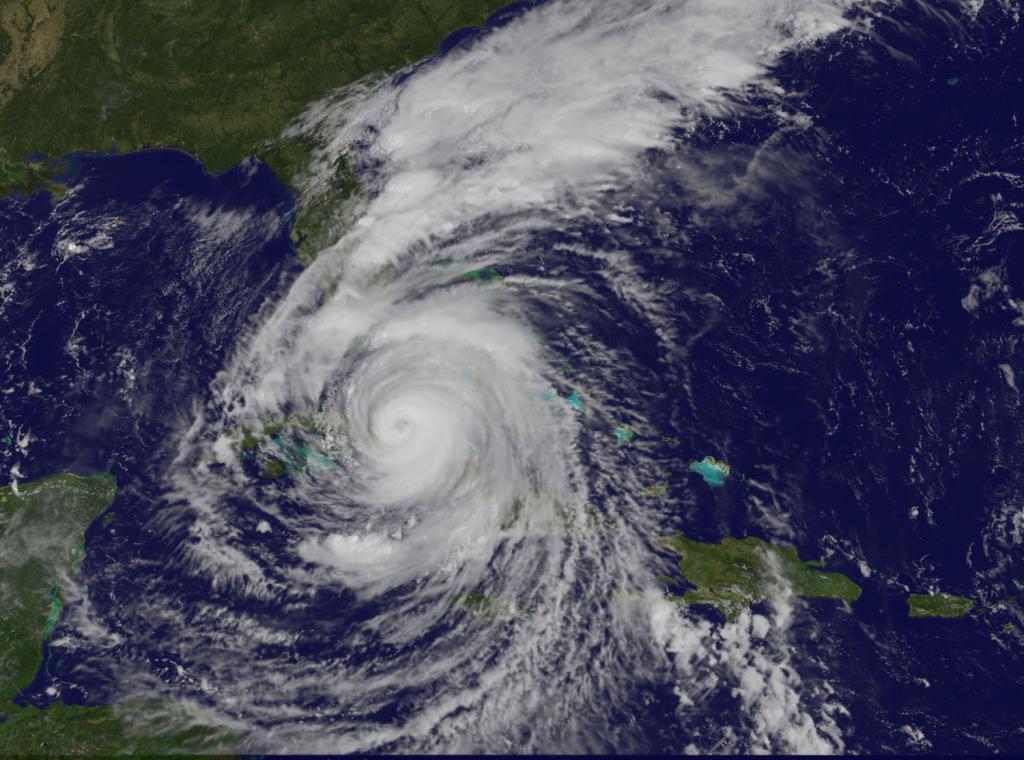 Hurricane Irma, September 9, 2017. Credits: NASA/NOAA GOES Project