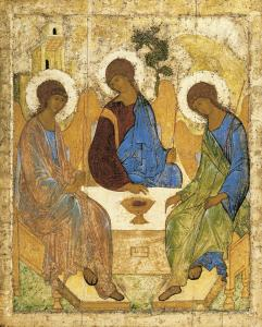 Rublev's Icon of the Holy Trinity (15th century)