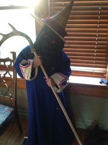 Warrior mouse and black mage almost ready to deploy