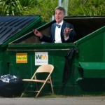 Bill Nye Spotted in Dumpster Looking For His Next Scientific Thesis