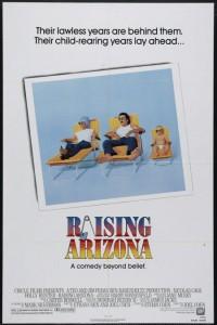 """""""Raising Arizona"""" poster"""