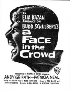 face in the crowd poster