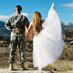 Khrystian kicks up her heels with her military captain husband Chad in 'Virgin Tales.""