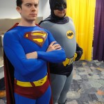 Possibly a publicity still from the upcoming Superman/Batman movie. Image: Pop Culture Geek via Flickr (CC BY 2.0).