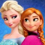 'Frozen' deals with the relationship between sisters Elsa, left, and Anna.
