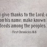 7 Thanksgiving Bible Verses with Commentary