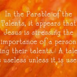 Parable Of The Talents: Meaning, Summary and Commentary
