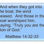 Jesus Walks On Water Bible Story: Summary, Lessons and Study