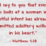 Matthew 5 28