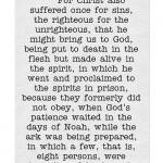 Did Jesus Visit Hell
