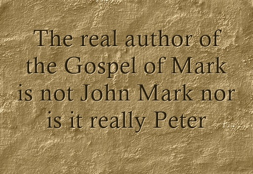Real Author Of The Gospel