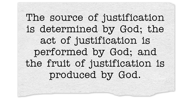 bible definition of justification