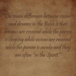 Difference Between Dreams and Visions