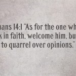 Bible Verses About Accepting Others
